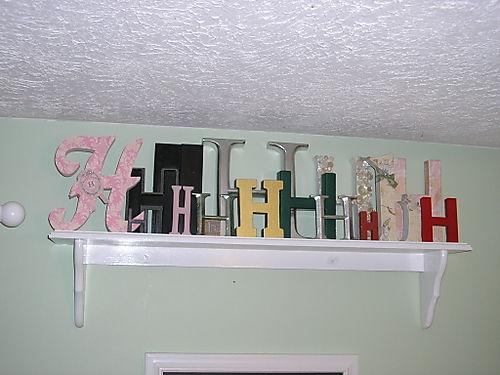 New h shelf