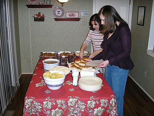 The bountiful feast