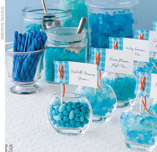 Blue Candy Buffet, The Knot