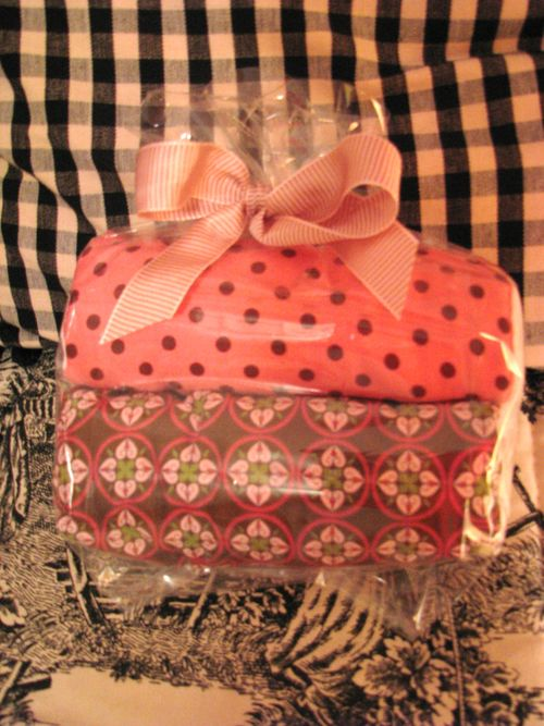 Packaged cloths