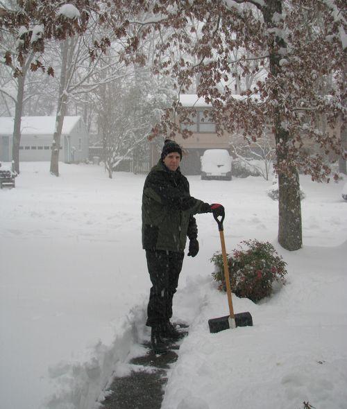 G in snow
