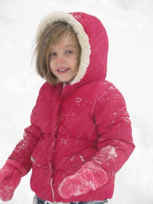 H in snow