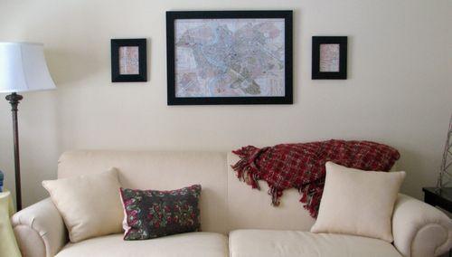Sofa & prints