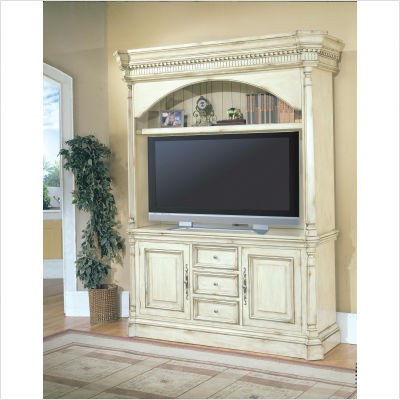 Parker-House-Furniture-Westminster-3-Piece-Entertainment-Center-in-Vintage-Cream-Crackle