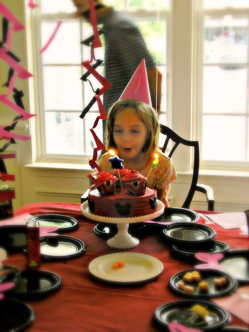 Blowing out candles 3