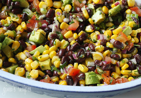 Southwestern-black-bean-salad