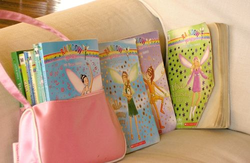 Rainbow fairy books