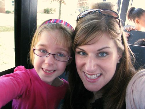 Hope & I on the bus