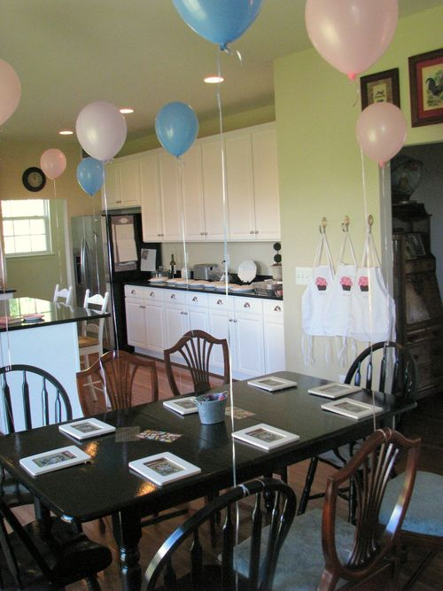 Decorated kitchen