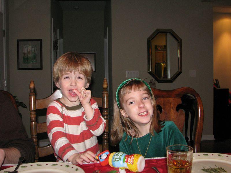 Rainer & Hope Christmas eve dinner