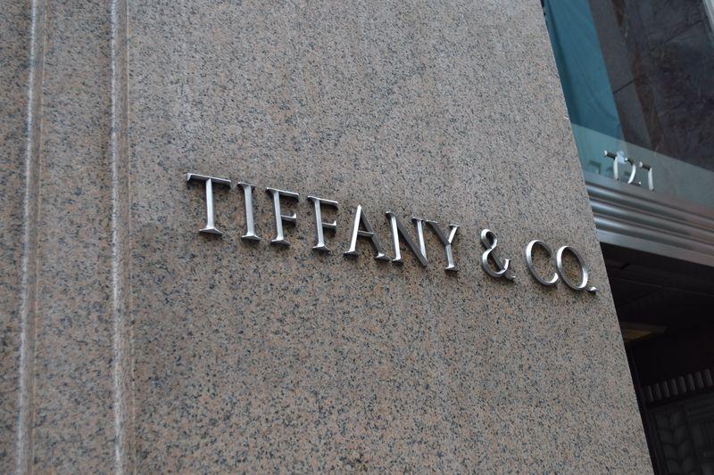 Tiffany & Co Sign