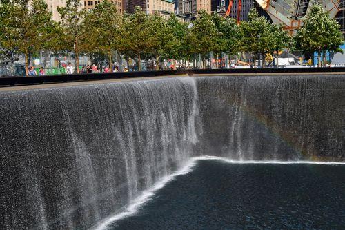Rainbow at 9 11 Memorial 2