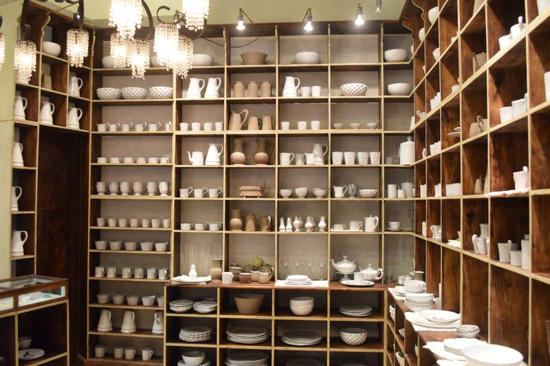 Dishes Display at ABC Home