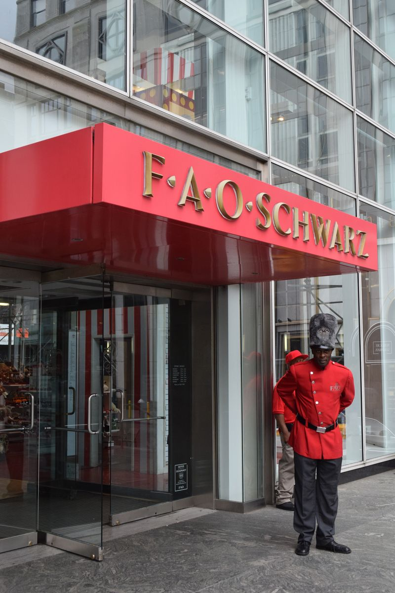 Guard FAO Schwartz