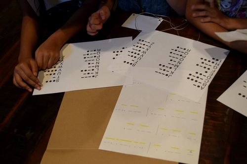 Secret Agent Party Spy Party Decoding Activity