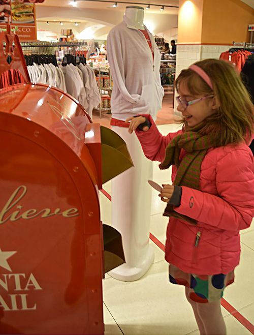 Hope mailing letter to santa at macys