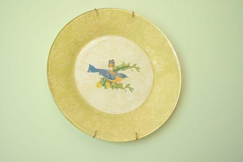 Decoupage plate 3