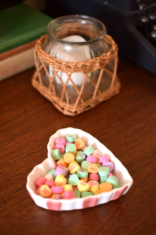 Valentines Day Heart Dish