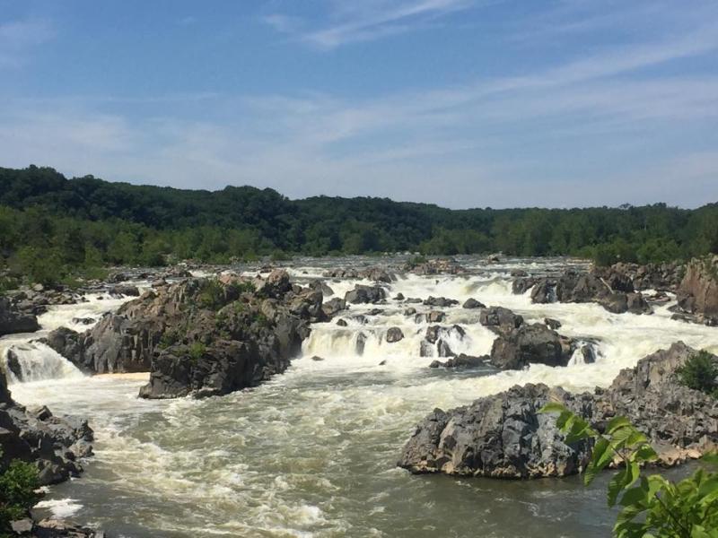 Great falls - leslie