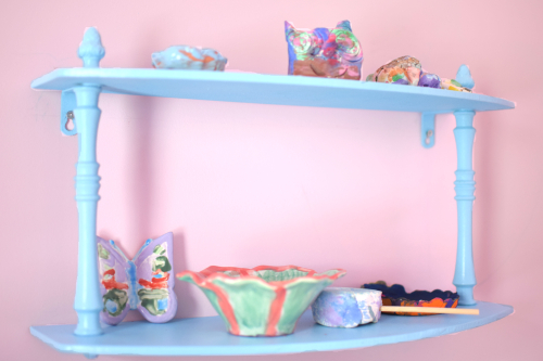 Blue shelf 1