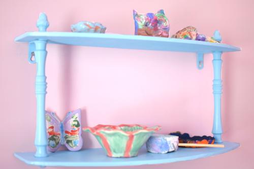 Blue shelf 1