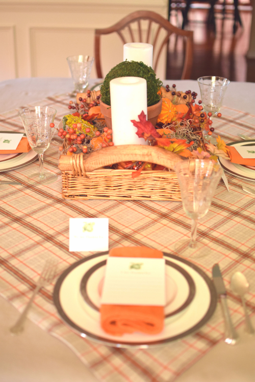 Thanksgiving Table 2016