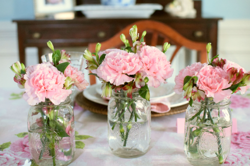 Pink Easter Tablescape 8