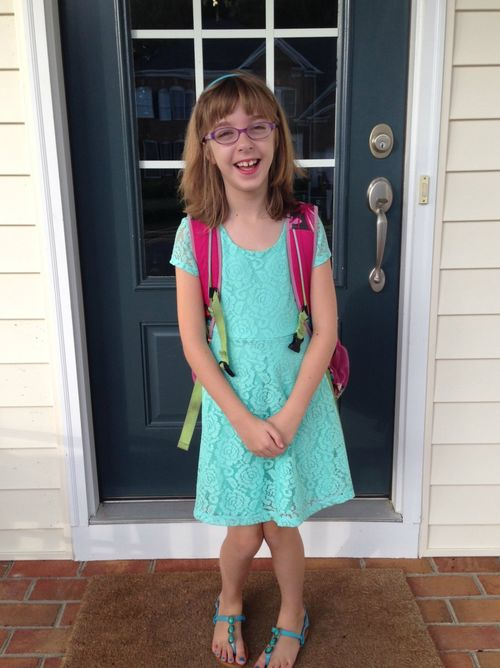 First Day of 4th Grade - NumberNineteen