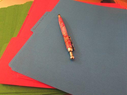 Colorful Organizing - Colorful File Folders