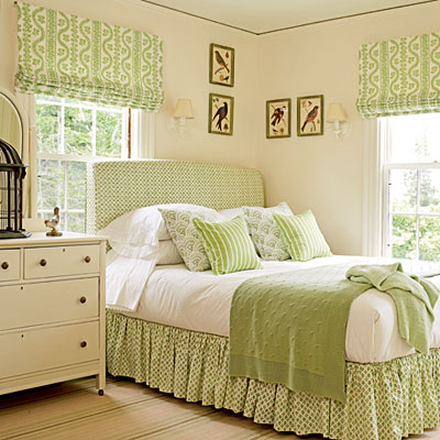 Green-bedroom-l