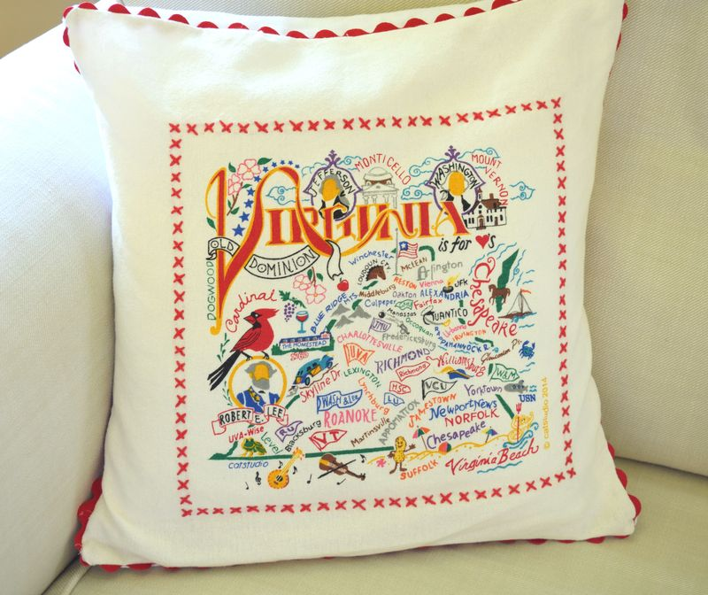 Virginia pillow