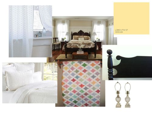 Guest Room Inspiration Board