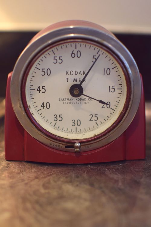 Red Kodak Darkroom Timer