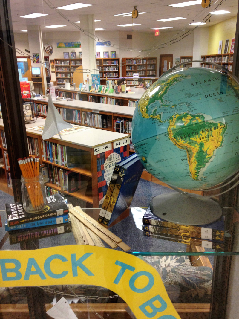 Back to School Back to Books Library Display 1