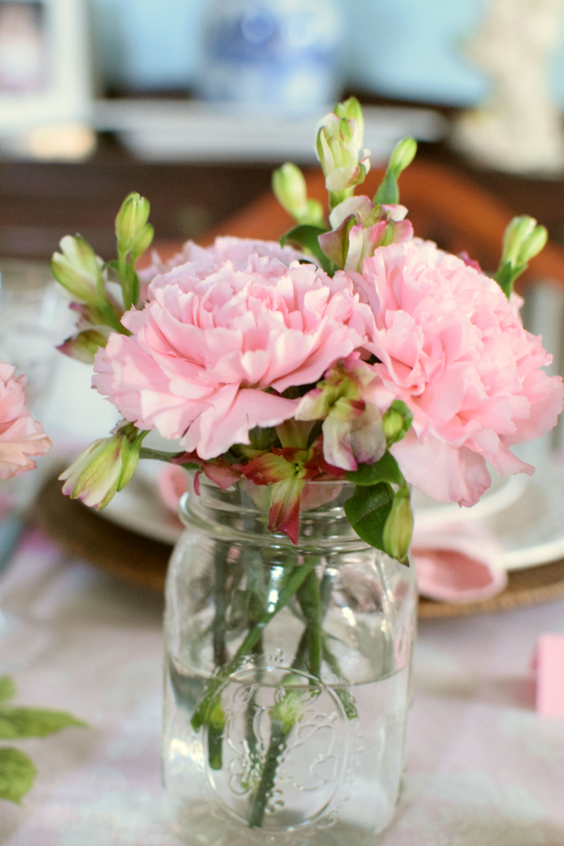Pink Easter Tablescape 7