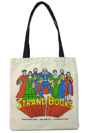 Literary Heroes Tote Bag
