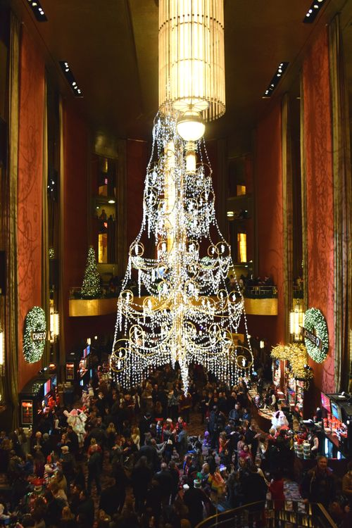 Lobby Radio City Christmas 2014
