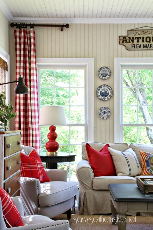 Savvy Southern Style Sun Room