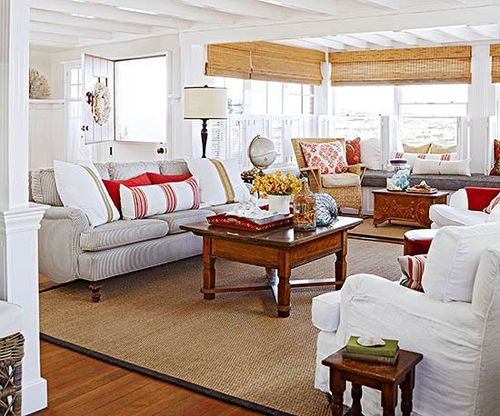 Beachfront Family Room -- BHG