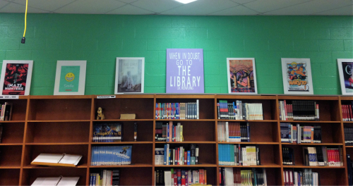 Middle School Library Book Posters