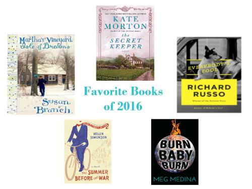 Favorite Books of 2016
