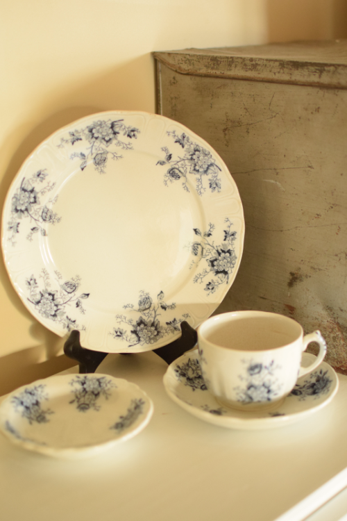 Black Antique Transferware